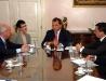 Governador Sérgio Cabral e Lord Mayor de Londres – Rio - 08 de outubro de 2008