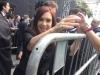 Presidente C Kirchner saindo da missa do Papa Francisco - Presidente C Kirchner leaving Pope Francis's mass